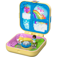 Polly Pocket Hidden Hideouts - Shani's Unicorn Utopia Playset - Polly Pocket Gifts