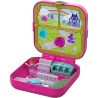 Polly Pocket Hidden Hideouts - Lil's Princess Pad Playset - Polly Pocket Gifts