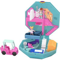 Polly Pocket Tiny Pocket World - Pamperin' Perfume Spa Playset - Polly Pocket Gifts