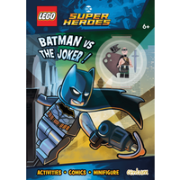 LEGO DC Comics Batman - Activity Book with Mini Figure - Batman Gifts