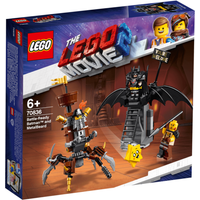 The LEGO Movie 2 Battle-Ready Batman and Metal Beard - 70836 - Batman Gifts