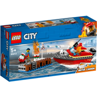 LEGO City Dock Side Fire - 60213