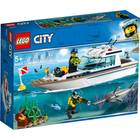 LEGO City Diving Yacht - 60221 - Diving Gifts
