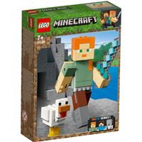 LEGO Minecraft Alex BigFig with Chicken - 21149 - Chicken Gifts