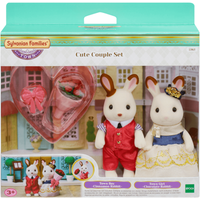 Sylvanian Families Cute Rabbit Couple Set - Sylvanian Families Gifts