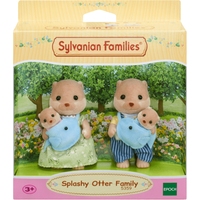 Sylvanian Families Splashy Otter Family - Sylvanian Families Gifts