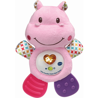 VTech Little Friendlies Happy Hippo Teether - Pink - Hippo Gifts
