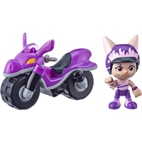 Top Wing Betty McBat's Dirt Bike and Figure