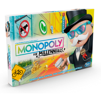 Monopoly for Millennials Board Game - Monopoly Gifts