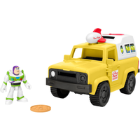Fisher-Price Imaginext Disney Pixar Toy Story - Buzz Lightyear and Pizza Planet Truck - Buzz Lightyear Gifts