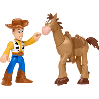 Fisher-Price Imaginext Disney Pixar Toy Story Figures - Woody and Bullseye - Fisher Price Gifts