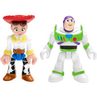 Fisher-Price Imaginext Disney Pixar Toy Story Figures - Buzz Lightyear and Jessie - Buzz Lightyear Gifts