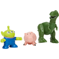 Fisher-Price Imaginext Disney Pixar Toy Story Figures - Rex, Hamm and Alien - Fisher Price Gifts