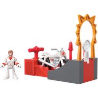 Fisher-Price Imaginext Disney Pixar Toy Story 4 - Duke caboom Stunt Set - Fisher Price Gifts