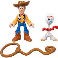 Fisher-Price Imaginext Disney Pixar Toy Story 4 -  Woody and Forky - Fisher Price Gifts
