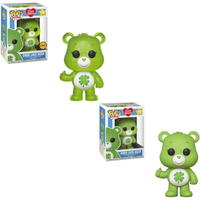Funko Pop! Animation: Care Bears - Good Luck Bear (Styles Vary) - Bears Gifts