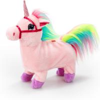 Pitter Patter Pets Walk Along Unicorn - Pink - Walking Gifts