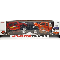 Monster Trucks - Hummer H2 and Ford F-350 Super Duty - Trucks Gifts