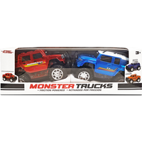 Monster Trucks - Toyota FJ Cruiser and Ford F-350 Super Duty - Trucks Gifts