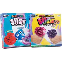 Jack's Ultimate Party Slime and Squishy Balls Set - Thetoyshopcom Gifts