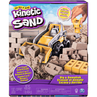 Kinetic Sand Dig and Demolish Truck Playset