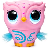 Owleez Flying Baby Owl Interactive Toy - Pink