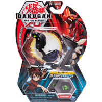 Bakugan 5cm Tall Action Figure and Trading Card - Darkus Fangzor - Bakugan Gifts
