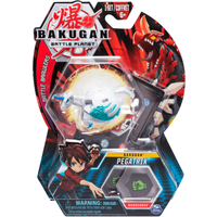 Bakugan 5cm Tall Action Figure and Trading Card - Pegatrix - Bakugan Gifts