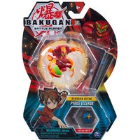 Bakugan 5cm Tall Action Figure and Trading Card - Pyrus Vicerox