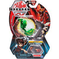 Bakugan 5cm Tall Action Figure and Trading Card - Ventus Fangzor - Bakugan Gifts