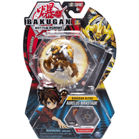 Bakugan 8cm Ultra Action Figure and Trading Card - Aurelus Maxotaur - Bakugan Gifts