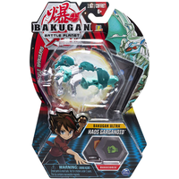 Bakugan 8cm Ultra Action Figure and Trading Card - Haos Garganoid - Bakugan Gifts