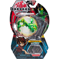 Bakugan 8cm Ultra Action Figure and Trading Card - Mantonoid - Bakugan Gifts