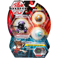 Bakugan Starter 3 Pack Action Figure - Darkus Mantonoid - Bakugan Gifts