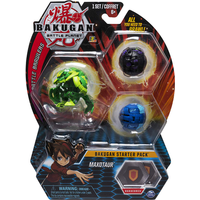 Bakugan Starter 3 Pack Action Figure - Maxotaur - Bakugan Gifts