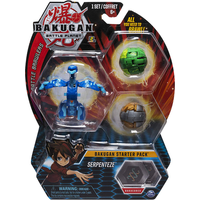 Bakugan Starter 3 Pack Action Figure - Serpenteze - Bakugan Gifts