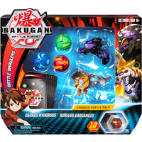 Bakugan Battle Pack - Darkus Hydorous and Aurelus Garganoid - Bakugan Gifts
