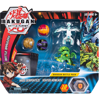 Bakugan Battle Pack - Haos Serpenteze and Ventus Howlkor - Bakugan Gifts