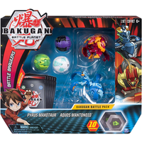 Bakugan Battle Pack - Pyrus Maotaur and Aquos Mantonoid - Bakugan Gifts