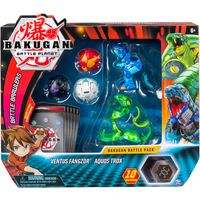 Bakugan Battle Collectible Cards and Figures 5-Pack - Ventus - Bakugan Gifts