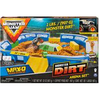 Monster Jam Monster Truck Dirt Arena Playset - 1:64 - Monster Truck Gifts