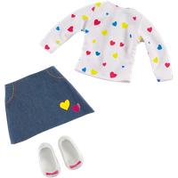 B Friends Pop Heart T-Shirt and Skirt - Skirt Gifts