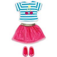 B Friends Cherry Burst Top & Skirt