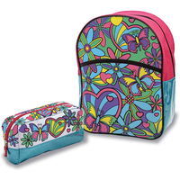 Out To Impress Colour Your Own Backpack and Pencil Case - Colour Gifts