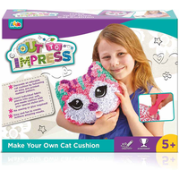 Out To Impress Make Your Own Cushion - Cat - Make Your Own Gifts