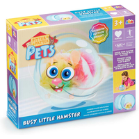 Pitter Patter Pets Busy Little Hamster - Bright Rainbow Edition - Pets Gifts