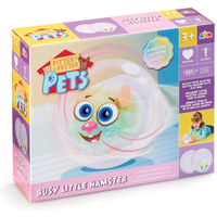 Pitter Patter Pets Busy Little Hamster - Pastel Rainbow Edition - Pets Gifts