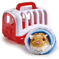 Pitter Patter Pets Carry Around Hamster - Brown - Pets Gifts