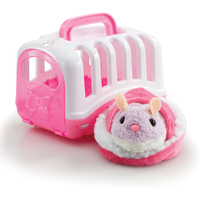 Pitter Patter Pets Carry Around Hamster - Pink - Pets Gifts