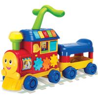 WinFun Walker Ride-On Learning Train - Blue - Learning Gifts